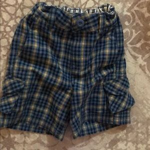 Hanna Andersson plaid shorts
